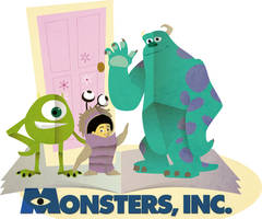 Monsters Paper Pop Up by kumitawapa