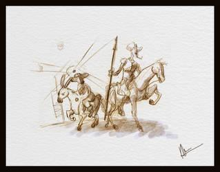 Quijote by kumitawapa