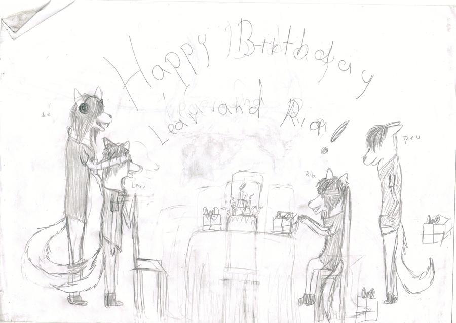 Happy B-day - sketch by Tami-Ami