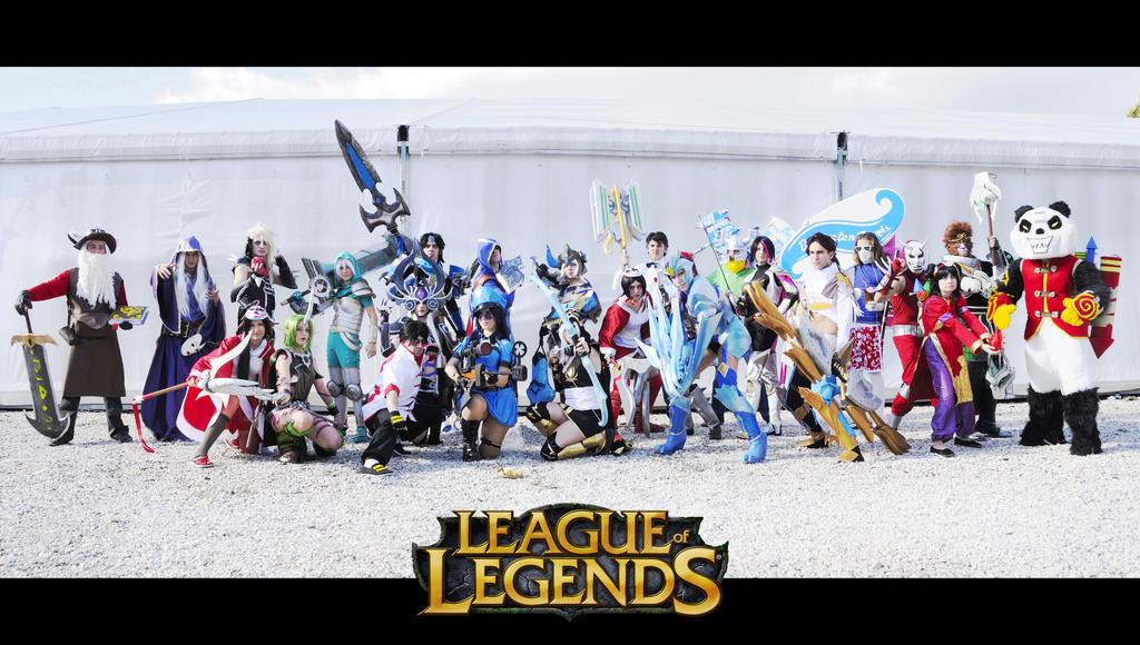 League of Legends by FairyScarlet