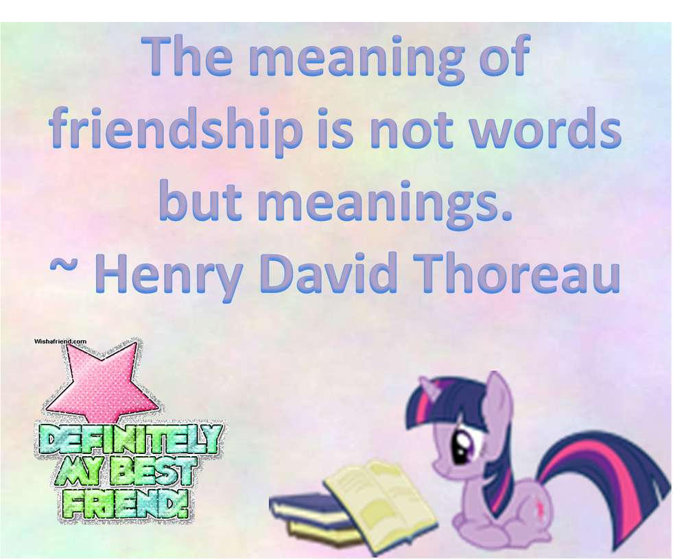the meaning of a friend essay The meaning of friendship as well as its importance to people is something very subjective but in general we can say that among all the different relationships that exist between people.