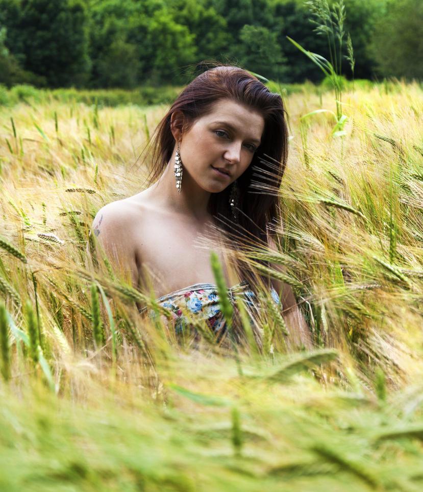 Sea of Barley by BikeBoyPunk