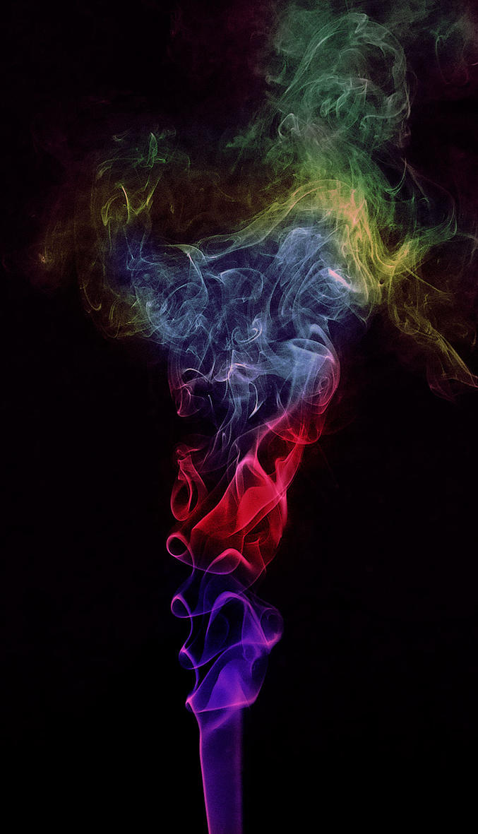 Psychedelic Smoke by BikeBoyPunk