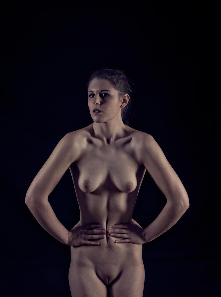 Naked Shoulders by BikeBoyPunk