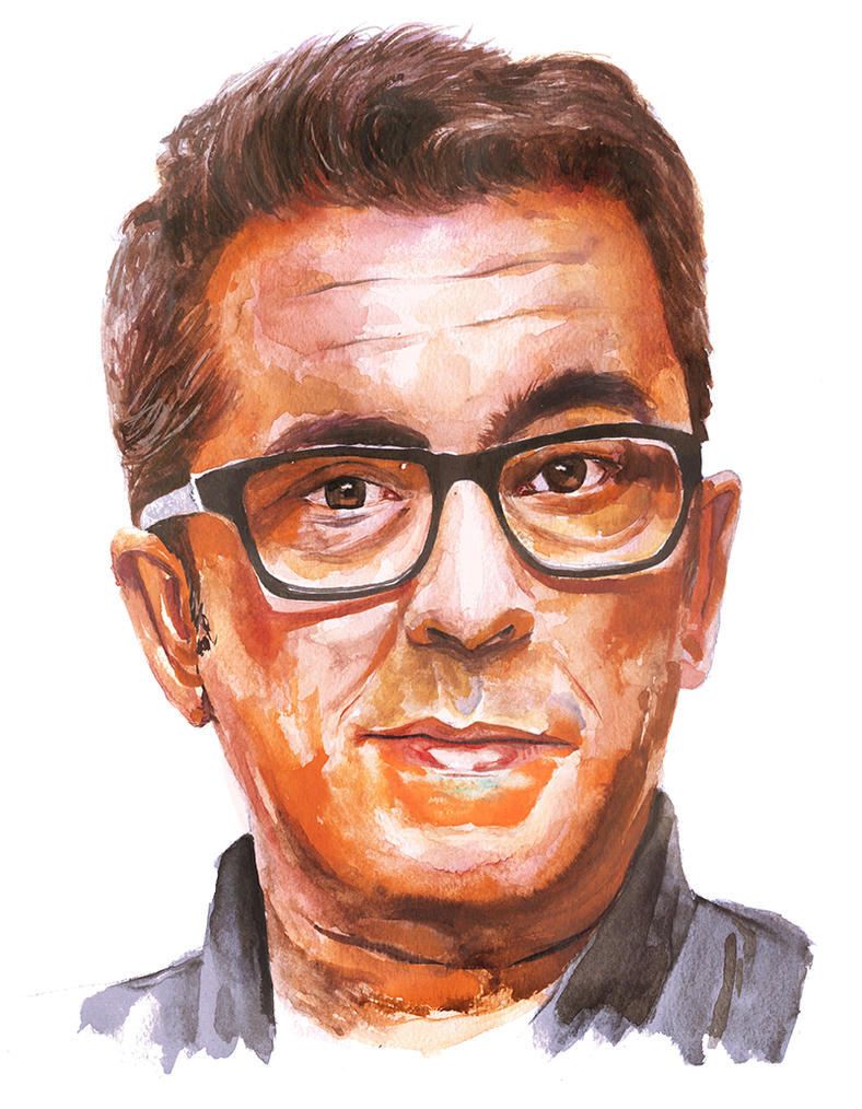 Andreu Buenafuente by picasio