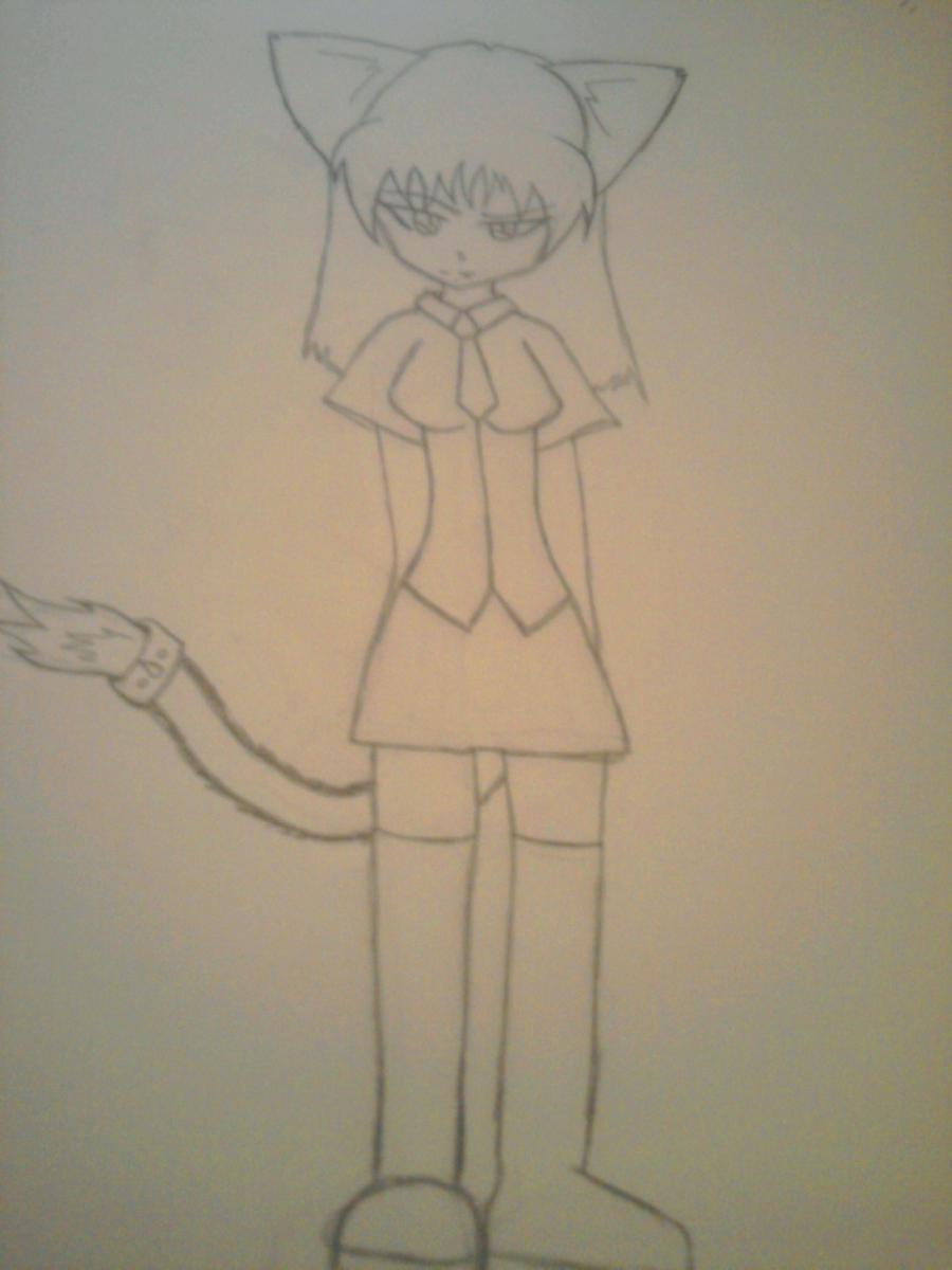 rin school uniform by catgirl-23