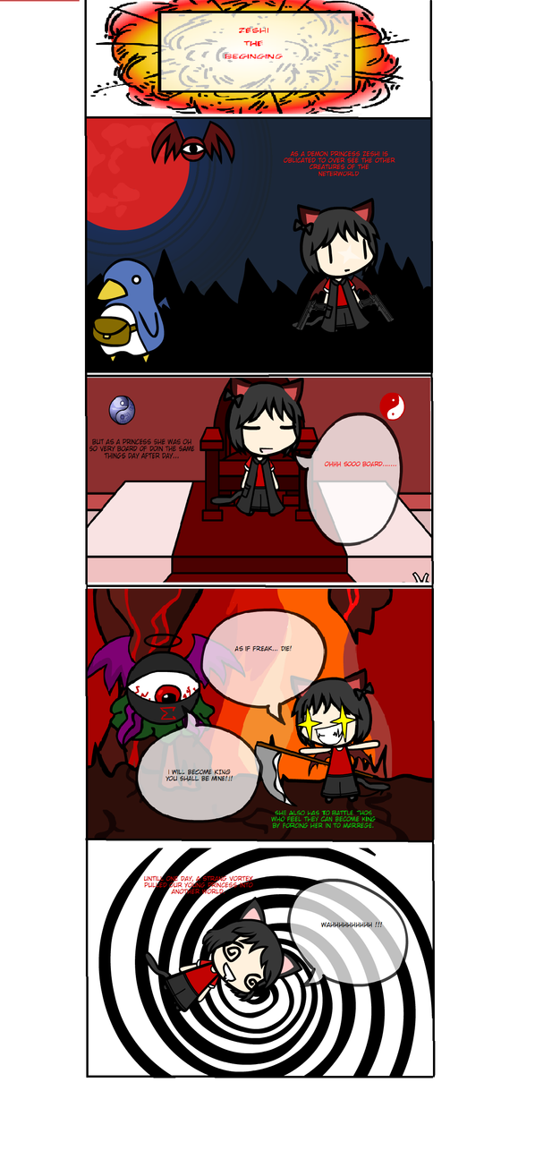 zeshi the beging by catgirl-23