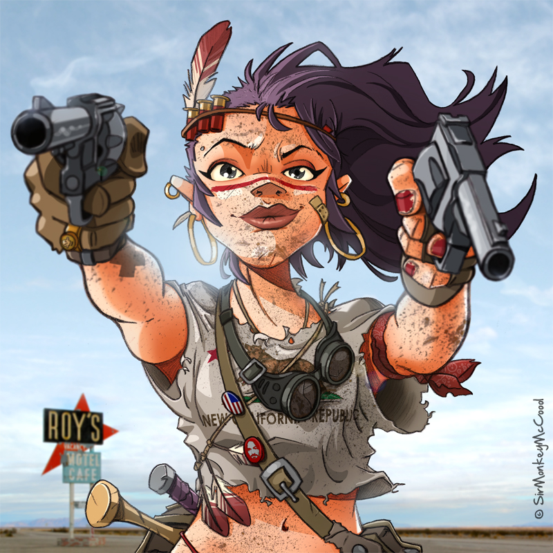 Low Desert Punk #2 by SirMonkeyMcCoool