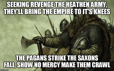 Great Heathen Army by DemonicFury5678