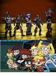 GWAR Vs. The Full House Gang by DemonicFury5678