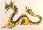 Pelami-Dokuso: The Slime Serpent Wyvern