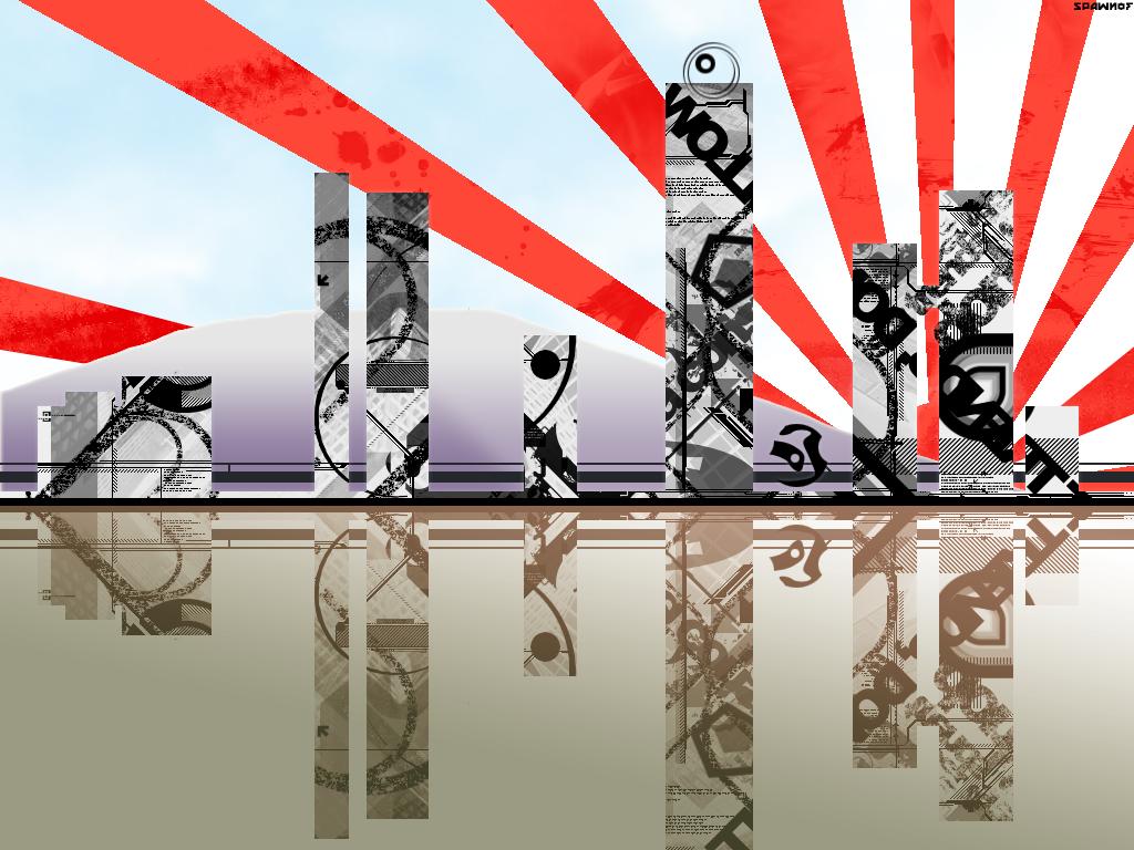 Japan Rising by Spawnof