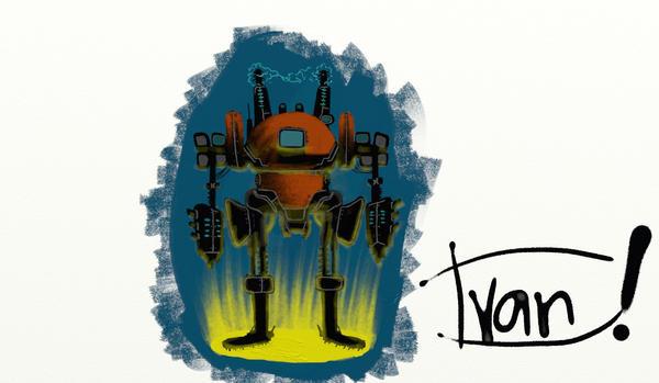 Robot by ThisisEBAN