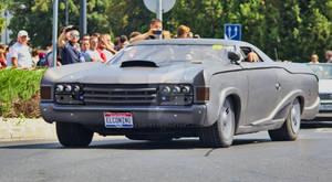 American car procession - Hungary, Komarom