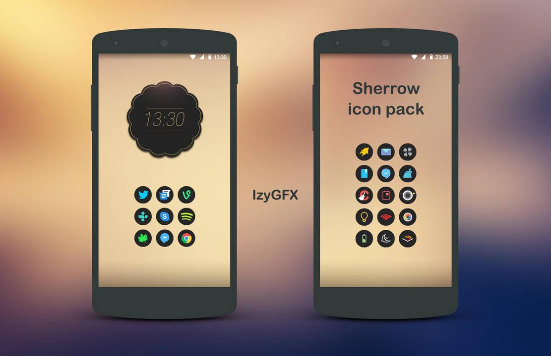 Sherrow Icon Pack - android icons by izyman on DeviantArt