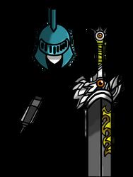 Cartoon Wars Blade : Knight Plain by RyutaroCartoonWars
