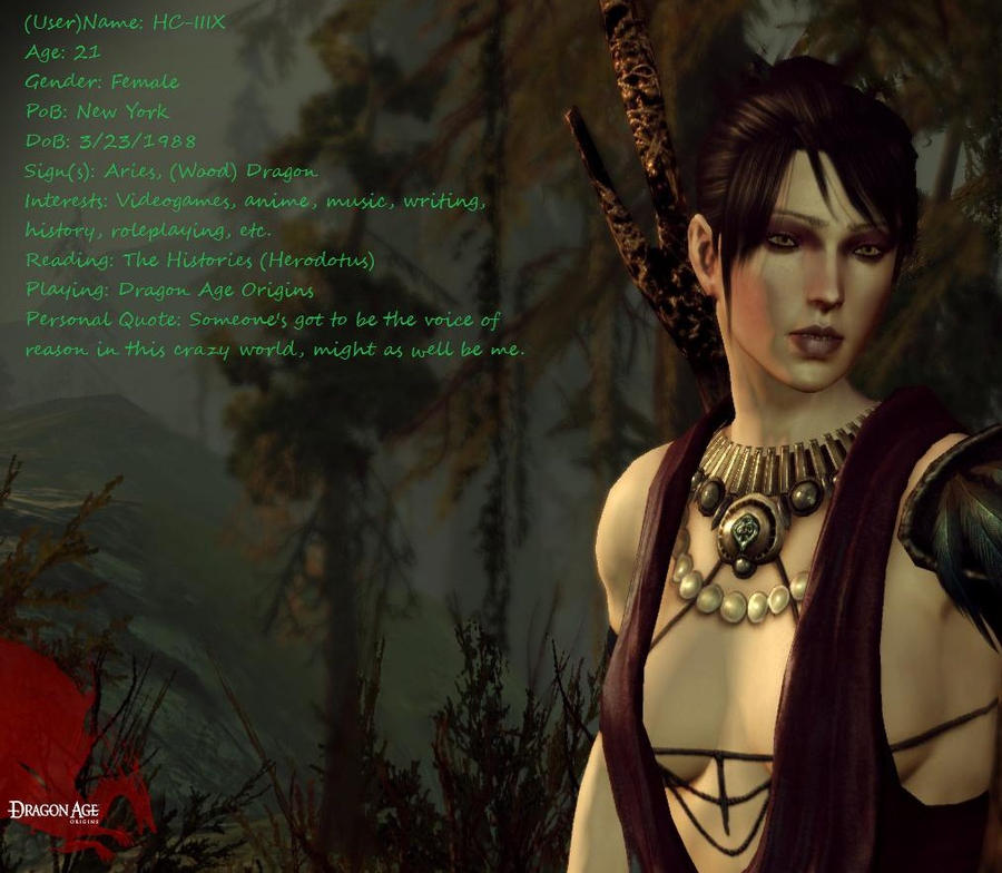 Dragon Age Morrigan Test by ~Rexluna108 on deviantART