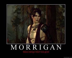 Morrigan Motivational Poster