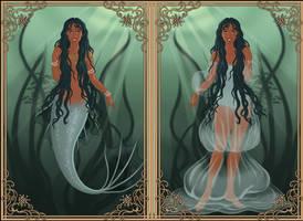 Fantasy Girl: Yemaya by HC-IIIX