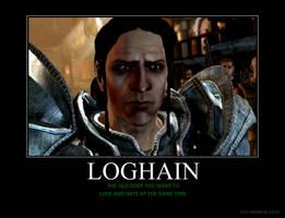 Loghain Motivational by HC-IIIX