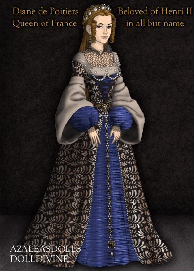 Tudor: Diane de Poitiers by HC-IIIX