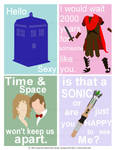 Dr Who Valentines Cards