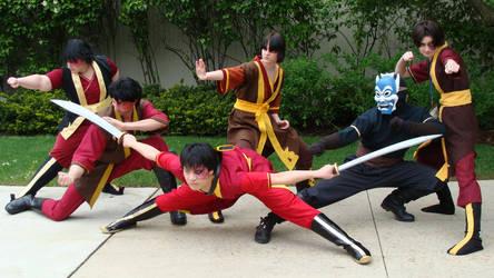 Avatar TLA Zuko cosplay Acen 2012 by StormyNight79