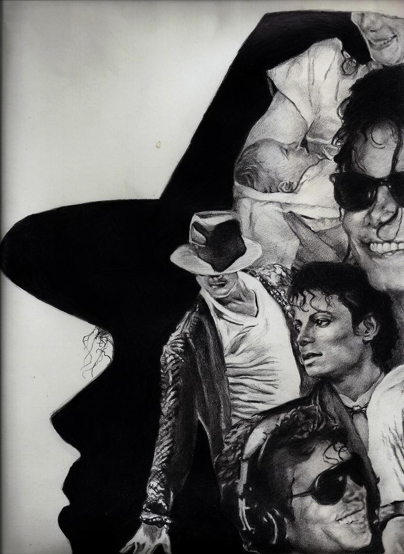 Michael Jackson collage, pt. 1