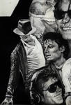Michael Jackson collage detail