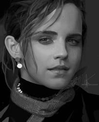 My childhood sweetheart Emma Watson by AntheaLee