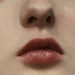 Lips and Nose study by AntheaLee
