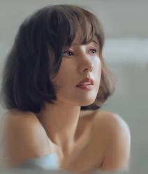 Portrait Study - Lee Hyori by AntheaLee