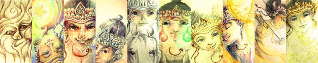 Ten Names of Arjuna by onagiri