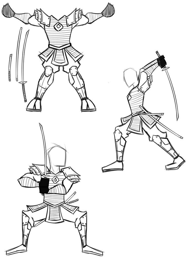 Samurai Design by HuyHTran