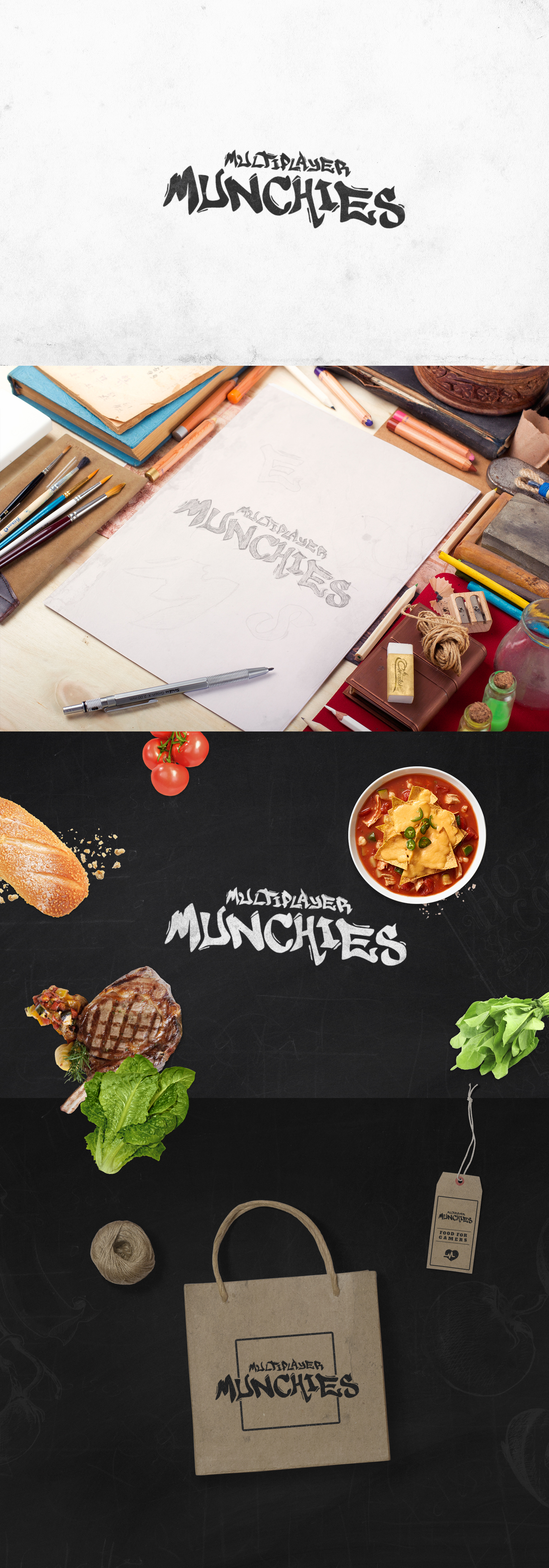 Multiplayer Munchies by kristaps-design