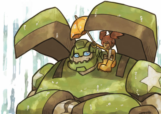 Bulkhead and Sari by yuta085