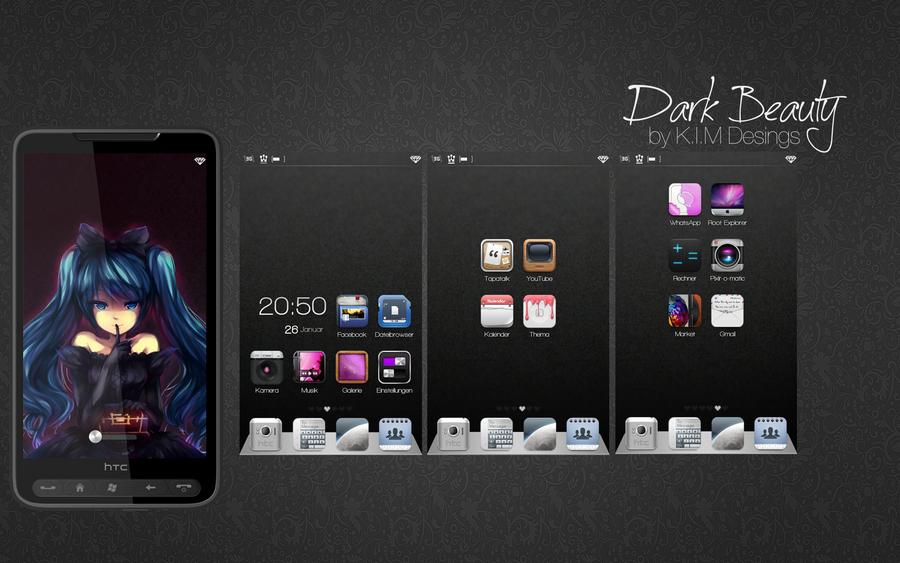 Dark Beauty by KINGMANI100