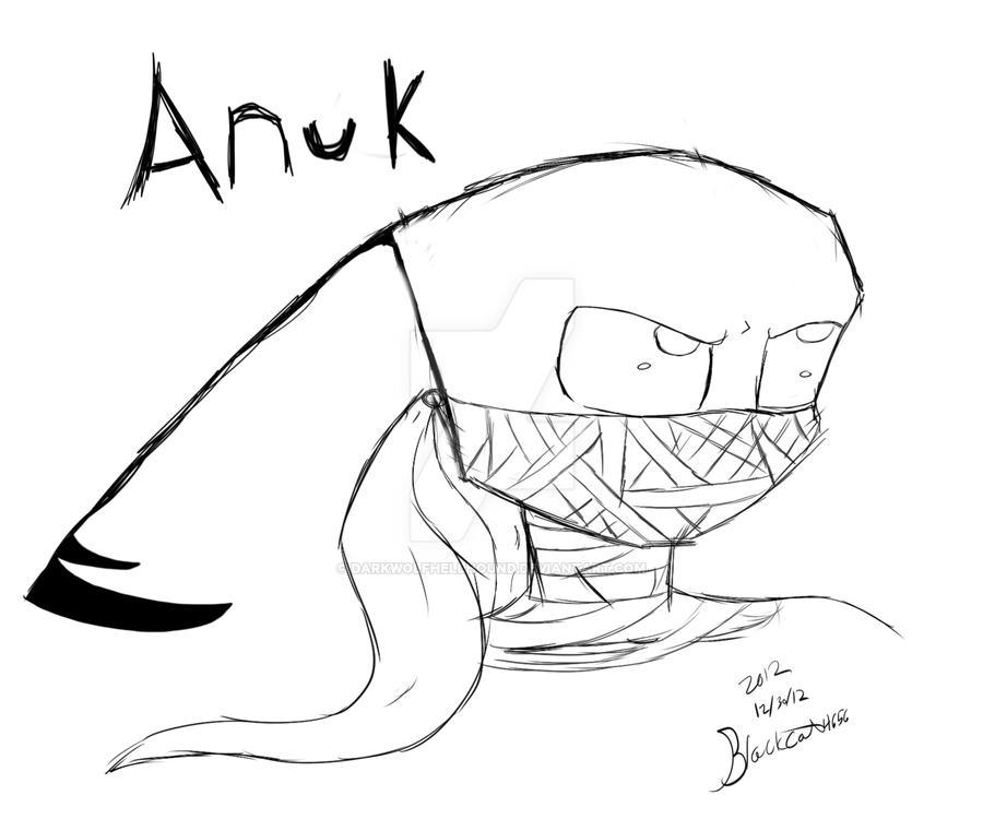 Anuk (new oc) by Darkwolfhellhound
