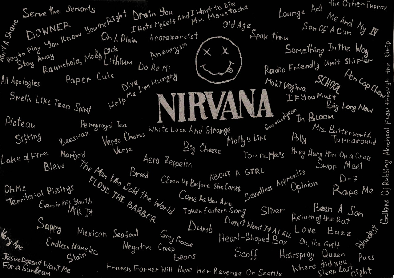 Nirvana Songs By Invert NB Man