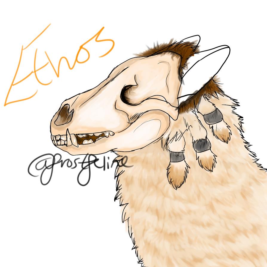 Ethos fanart by frostfeline