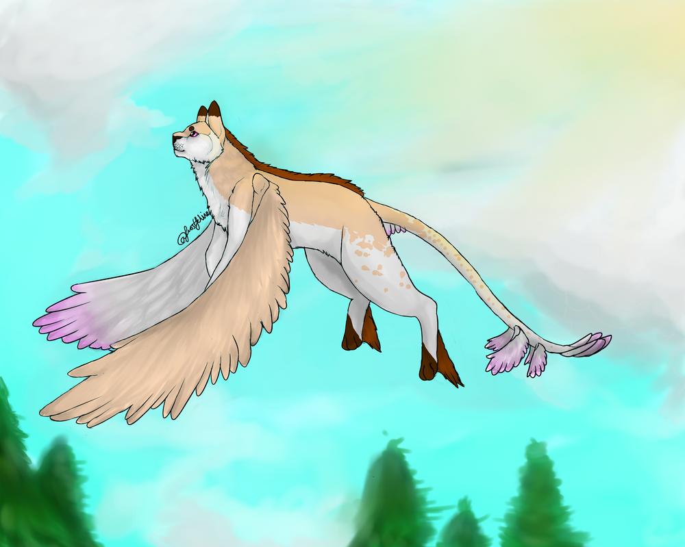 Flight by frostfeline