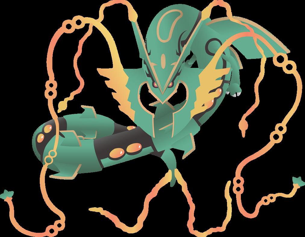 how to draw mega rayquaza dragoart