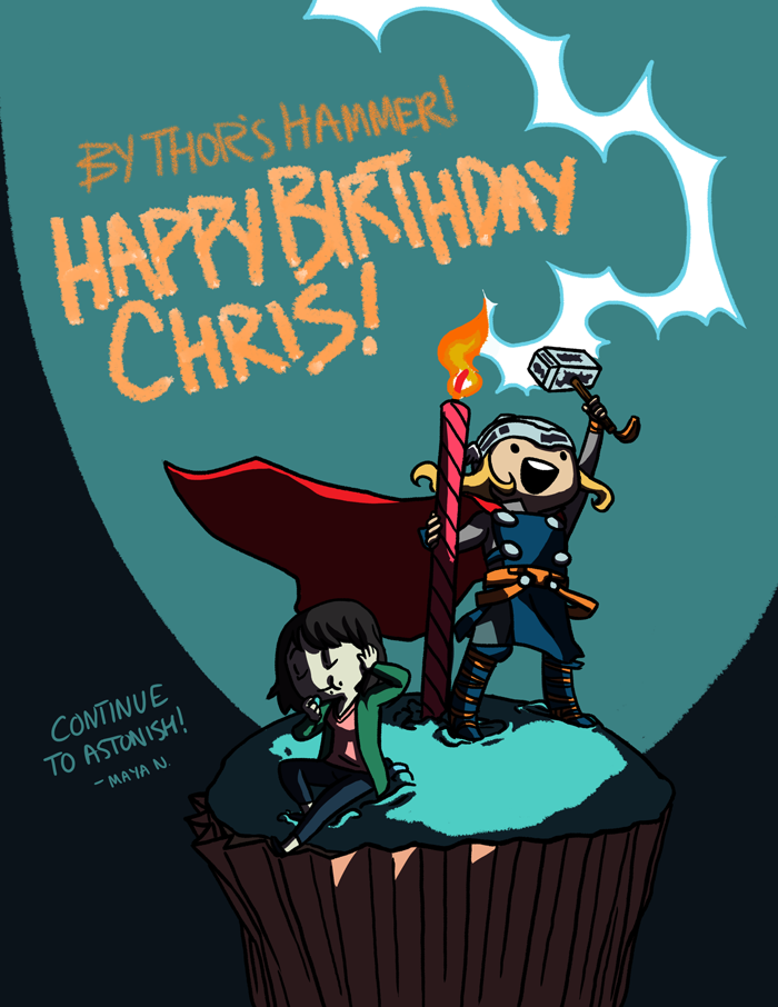 A Very Thunderous Birthday by Mayeko