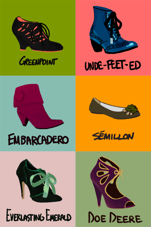Lets Draw Some Shoes by Mayeko