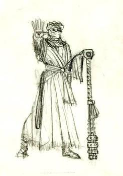 Desert Priest by John-Fitzgibbons