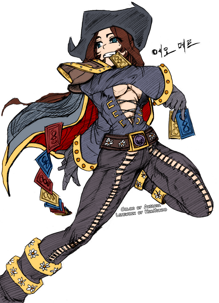 Female Twisted Fate by Akizava