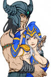 Ashe and Tryndamere