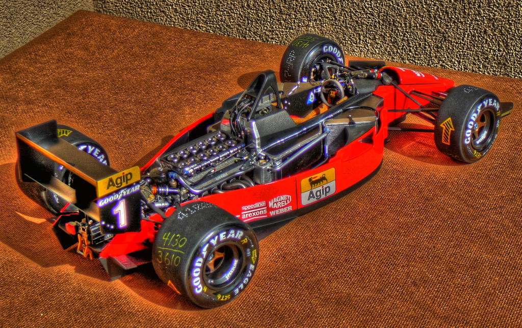 New Ferrari 70 Scale Models 6