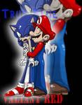 True Blue Valiant Red