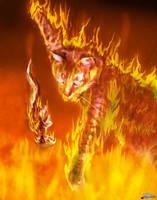 Fire Cat by SBibb